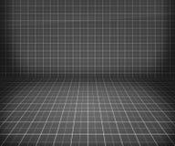 Priorità bassa di fase grigia della cianografia illustrazione vettoriale