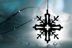 Priorità bassa di festa del fiocco di neve Immagine Stock