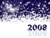 Priorità bassa di festa di nuovo anno illustrazione vettoriale