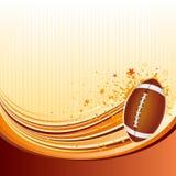 priorità bassa di football americano Fotografia Stock Libera da Diritti