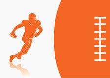 Priorità bassa di football americano Immagine Stock Libera da Diritti