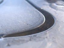 Priorità bassa di gelo Fotografia Stock Libera da Diritti