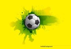 Priorità bassa di gioco del calcio Fotografie Stock Libere da Diritti