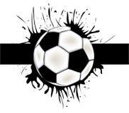 Priorità bassa di gioco del calcio di vettore Fotografia Stock Libera da Diritti