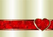 Priorità bassa di giorno dei biglietti di S. Valentino Immagini Stock
