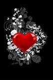 Priorità bassa di giorno dei biglietti di S. Valentino Fotografia Stock