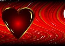 Priorità bassa di giorno dei biglietti di S. Valentino royalty illustrazione gratis