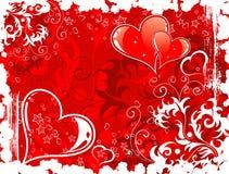 Priorità bassa di giorno dei biglietti di S. Valentino con Fotografia Stock