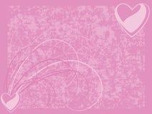Priorità bassa di giorno del biglietto di S. Valentino Fotografia Stock