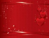 Priorità bassa di giorno del biglietto di S. Valentino illustrazione vettoriale