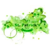 Priorità bassa di giorno del Patrick santo Fotografie Stock