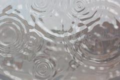 Priorità bassa di goccia della pioggia Fotografie Stock