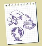 Priorità bassa di graduazione illustrazione di stock