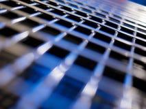 Priorità bassa di griglia del metallo Immagine Stock Libera da Diritti