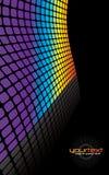 Priorità bassa di griglia del Rainbow Immagine Stock