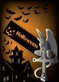 Priorità bassa di Halloween illustrazione vettoriale