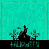 Priorità bassa di Halloween Fotografie Stock
