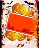 Priorità bassa di Halloween Fotografie Stock Libere da Diritti