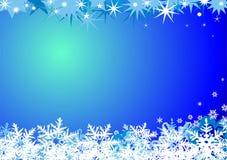 Priorità bassa di inverno Fotografia Stock
