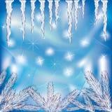 Priorità bassa di inverno Immagine Stock