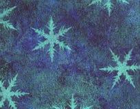Priorità bassa di inverno Fotografie Stock