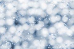 Priorità bassa di inverno di natale fotografia stock