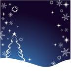 Priorità bassa di inverno (vettore) royalty illustrazione gratis
