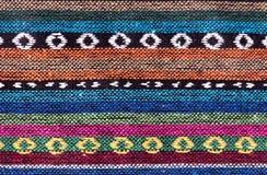 Priorità bassa di lavoro a maglia variopinta Fotografia Stock