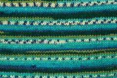 Priorità bassa di lavoro a maglia variopinta Fotografie Stock Libere da Diritti