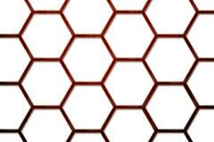 Priorità bassa di legno 2 dell'alveare dell'ape Fotografia Stock Libera da Diritti