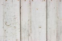 Priorità bassa di legno bianca Fotografie Stock