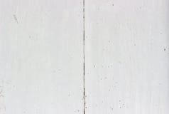 Priorità bassa di legno bianca Fotografia Stock