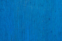 Priorità bassa di legno blu Fotografia Stock