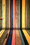Priorità bassa di legno creativa Fotografia Stock
