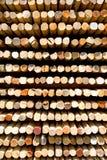 Priorità bassa di legno dei bastoni Fotografia Stock Libera da Diritti