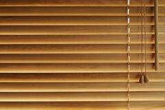 Priorità bassa di legno dei ciechi Fotografie Stock Libere da Diritti