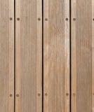 Priorità bassa di legno del pavimento della piattaforma Fotografia Stock Libera da Diritti