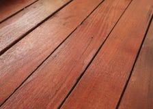 Priorità bassa di legno del pavimento della piattaforma immagine stock libera da diritti