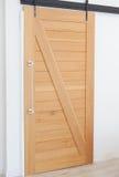 Priorità bassa di legno del portello Immagine Stock Libera da Diritti