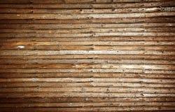 Priorità bassa di legno dell'interiore della parete Immagine Stock Libera da Diritti