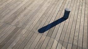 Priorità bassa di legno della piattaforma Fotografie Stock Libere da Diritti