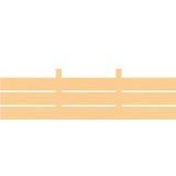 Priorità bassa di legno della rete fissa Immagine Stock