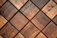 Priorità bassa di legno delle mattonelle Fotografia Stock Libera da Diritti