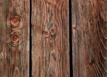 Priorità bassa di legno delle plance del Brown Fotografia Stock