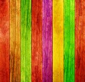 Priorità bassa di legno di colore Fotografie Stock Libere da Diritti
