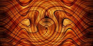 Priorità bassa di legno di rotazione Fotografia Stock Libera da Diritti