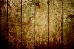 Priorità bassa di legno di struttura dell'oro dell'annata Immagini Stock Libere da Diritti