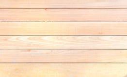 Priorità bassa di legno di struttura di colore marrone della plancia Fotografia Stock Libera da Diritti