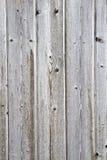 Priorità bassa di legno esposta all'aria rete fissa Fotografie Stock Libere da Diritti