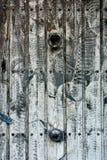 Priorità bassa di legno fuori lavata del portello Immagini Stock Libere da Diritti